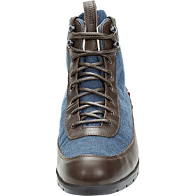 Dachstein Emil Sko Herrer, navy/dark brown